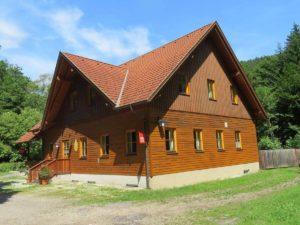 Schutzhaus Gerhartl in der Johannesbachklamm
