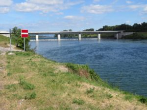 Neue Donau - Wehr 2