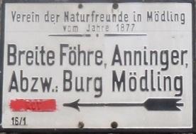 Husarentempel - Kleiner Anninger
