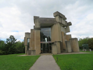 Wotruba Kirche am Georgenberg